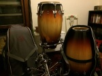 new drums, cases and stands
