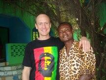 With Mr. Annoh, Ghana
